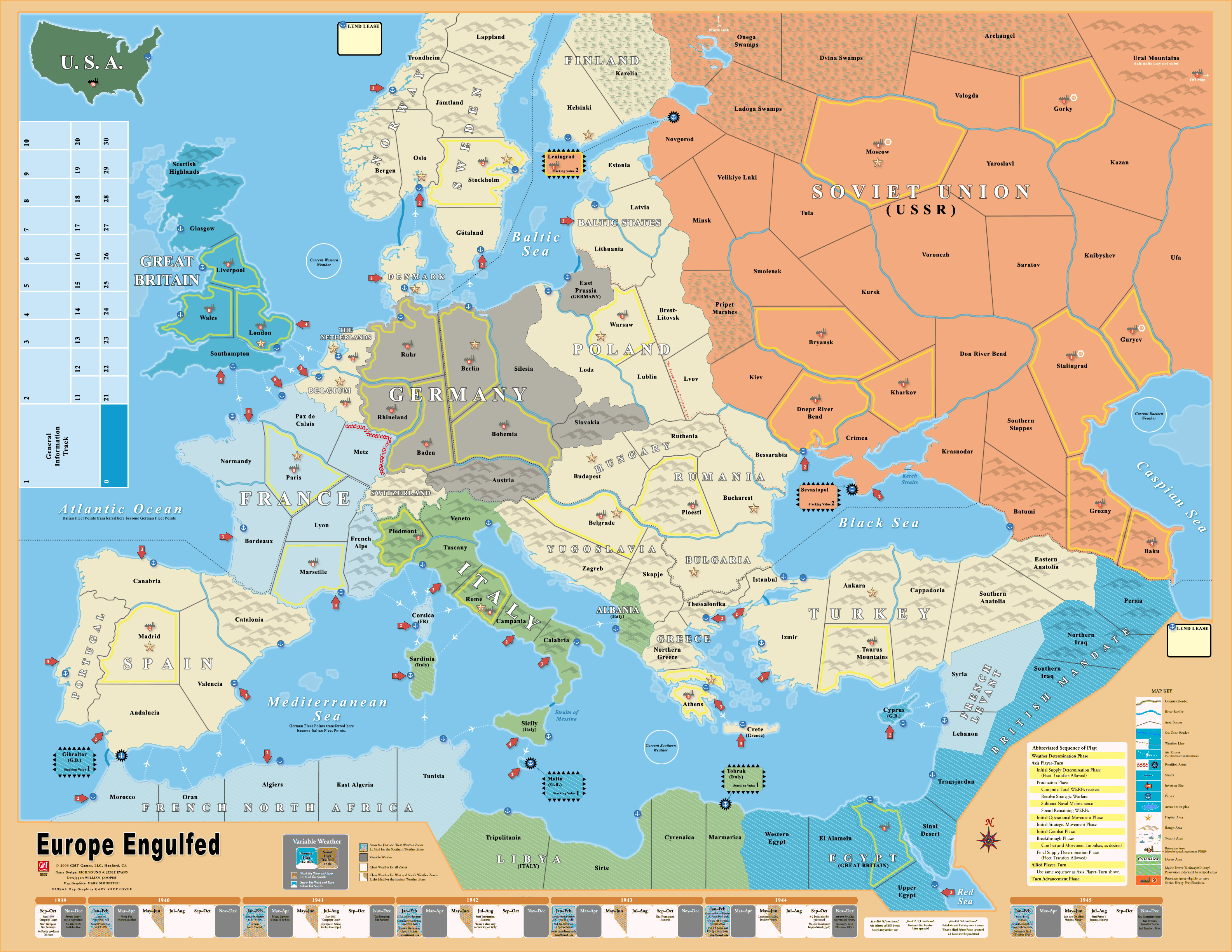 Europe Map Games
